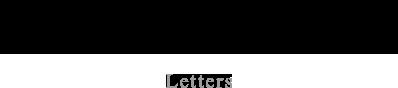 めづからの手紙 Letters